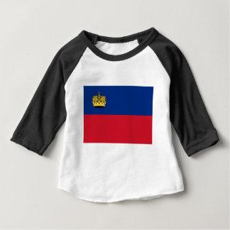Low Cost! Liechtenstein Flag Baby T-Shirt