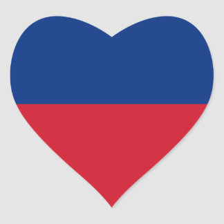 Low Cost! Liechtenstein Flag Heart Sticker