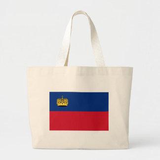 Low Cost! Liechtenstein Flag Large Tote Bag