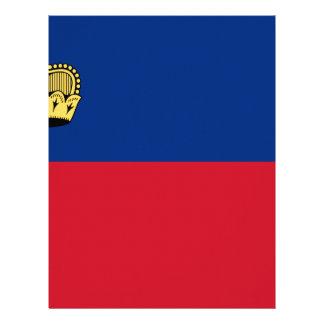 Low Cost! Liechtenstein Flag Letterhead