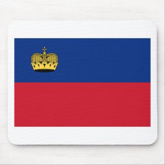 Low Cost! Liechtenstein Flag Mouse Pad