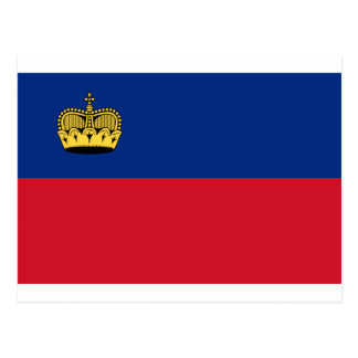 Low Cost! Liechtenstein Flag Postcard