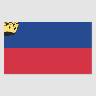 Low Cost! Liechtenstein Flag Sticker