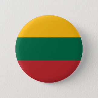 Low Cost! Lithuania Flag 2 Inch Round Button