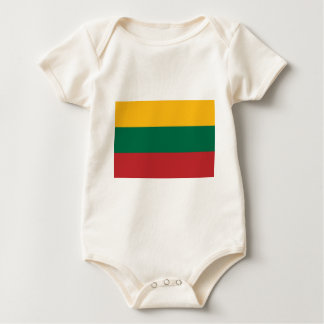 Low Cost! Lithuania Flag Baby Bodysuit