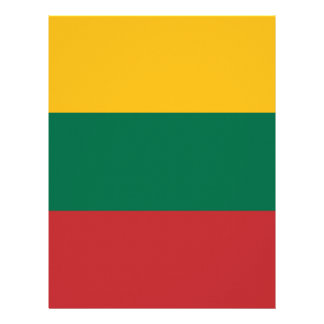 Low Cost! Lithuania Flag Letterhead