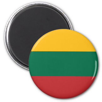 Low Cost! Lithuania Flag Magnet