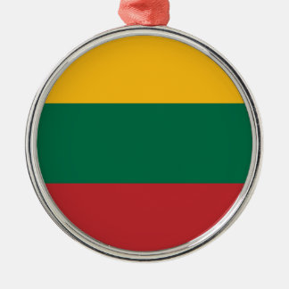 Low Cost! Lithuania Flag Metal Ornament