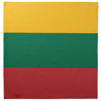 Low Cost! Lithuania Flag Napkin