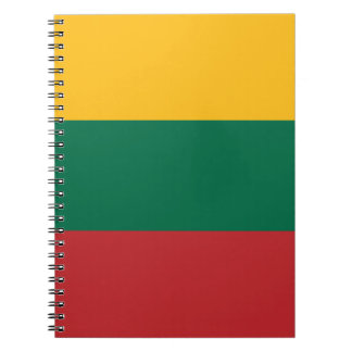 Low Cost! Lithuania Flag Notebooks
