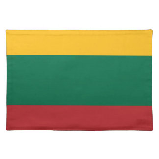 Low Cost! Lithuania Flag Placemat