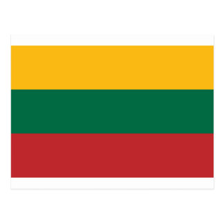 Low Cost! Lithuania Flag Postcard