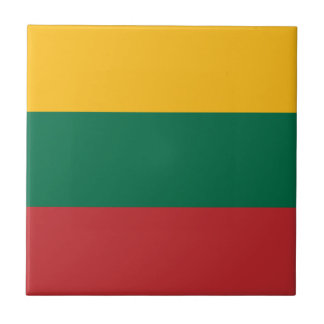 Low Cost! Lithuania Flag Tile