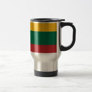 Low Cost! Lithuania Flag Travel Mug