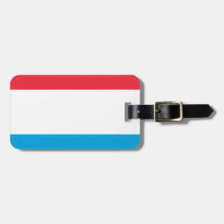 Low Cost! Luxembourg Flag Bag Tag