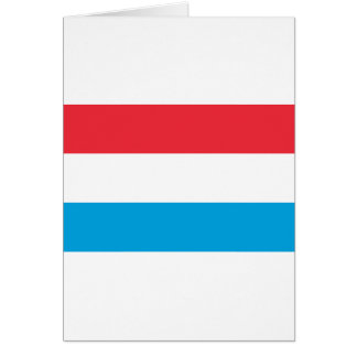 Low Cost! Luxembourg Flag Card