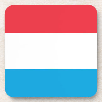 Low Cost! Luxembourg Flag Drink Coaster