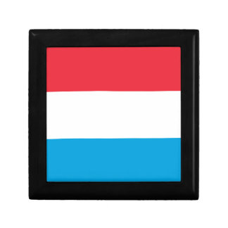 Low Cost! Luxembourg Flag Gift Box