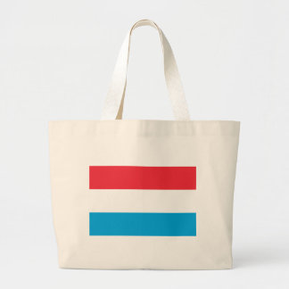 Low Cost! Luxembourg Flag Large Tote Bag