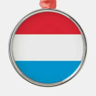Low Cost! Luxembourg Flag Metal Ornament