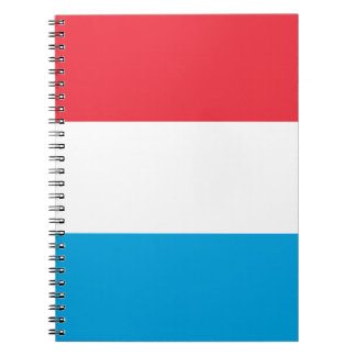 Low Cost! Luxembourg Flag Notebook