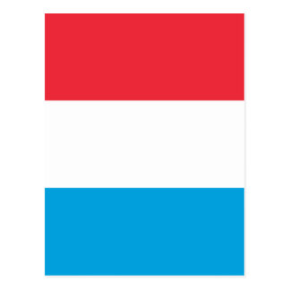 Low Cost! Luxembourg Flag Postcard