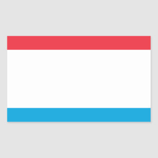 Low Cost! Luxembourg Flag Sticker