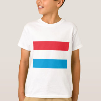 Low Cost! Luxembourg Flag T-Shirt