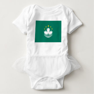 Low Cost! Macau Flag Baby Bodysuit