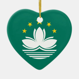 Low Cost! Macau Flag Ceramic Ornament
