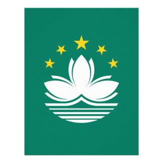 Low Cost! Macau Flag Customized Letterhead