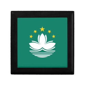 Low Cost! Macau Flag Gift Box