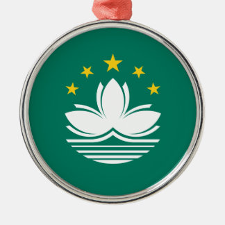 Low Cost! Macau Flag Metal Ornament