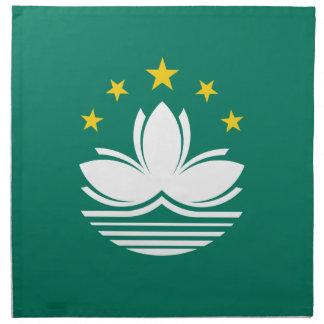 Low Cost! Macau Flag Napkin