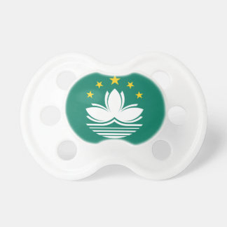 Low Cost! Macau Flag Pacifier