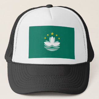 Low Cost! Macau Flag Trucker Hat