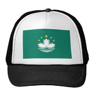 Low Cost! Macau Flag Trucker Hat