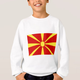 Low Cost! Macedonia Flag Sweatshirt