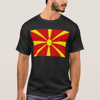 Low Cost! Macedonia Flag T-Shirt
