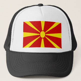 Low Cost! Macedonia Flag Trucker Hat