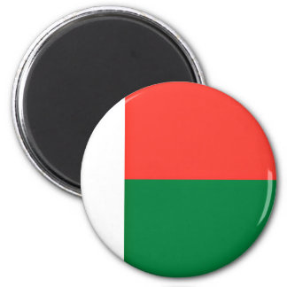 Low Cost! Madagascar Flag 2 Inch Round Magnet