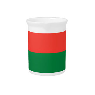 Low Cost! Madagascar Flag Beverage Pitcher