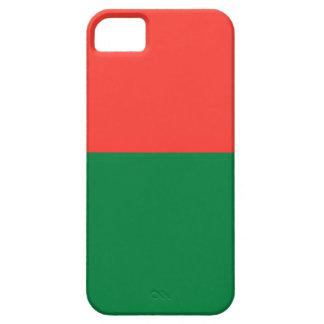 Low Cost! Madagascar Flag Case For The iPhone 5