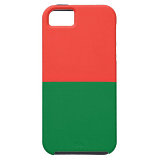 Low Cost! Madagascar Flag iPhone 5 Cover