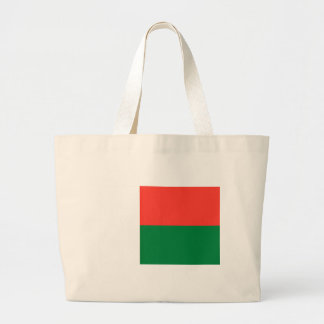 Low Cost! Madagascar Flag Large Tote Bag