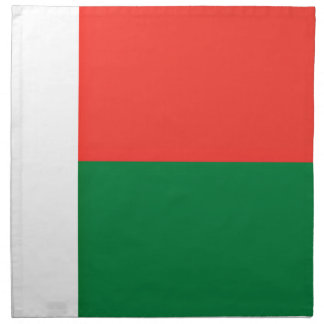 Low Cost! Madagascar Flag Napkin