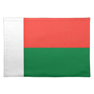 Low Cost! Madagascar Flag Placemat