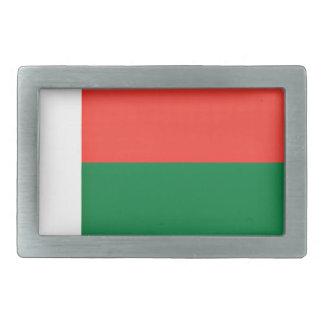 Low Cost! Madagascar Flag Rectangular Belt Buckles
