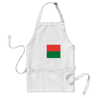 Low Cost! Madagascar Flag Standard Apron