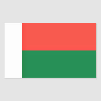 Low Cost! Madagascar Flag Sticker